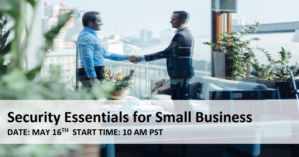 Security Essentials for Small Business