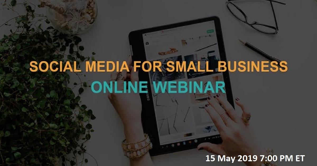 Social Media for Small Business: Online Webinar