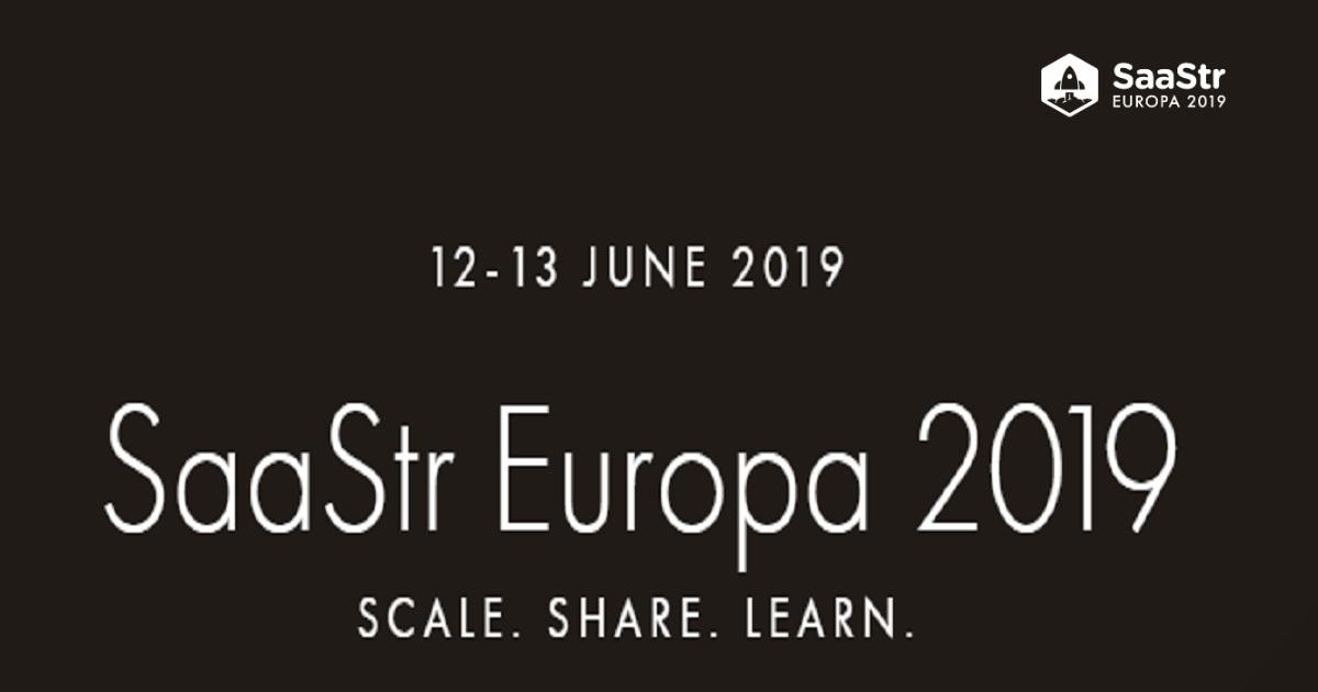 SaaStr Europa 2019