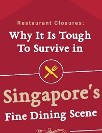 RESTAURANT CLOSURES- WHY IT IS TOUGH TO SURVIVE IN SINGAPORE'S FINE DINING SCENE