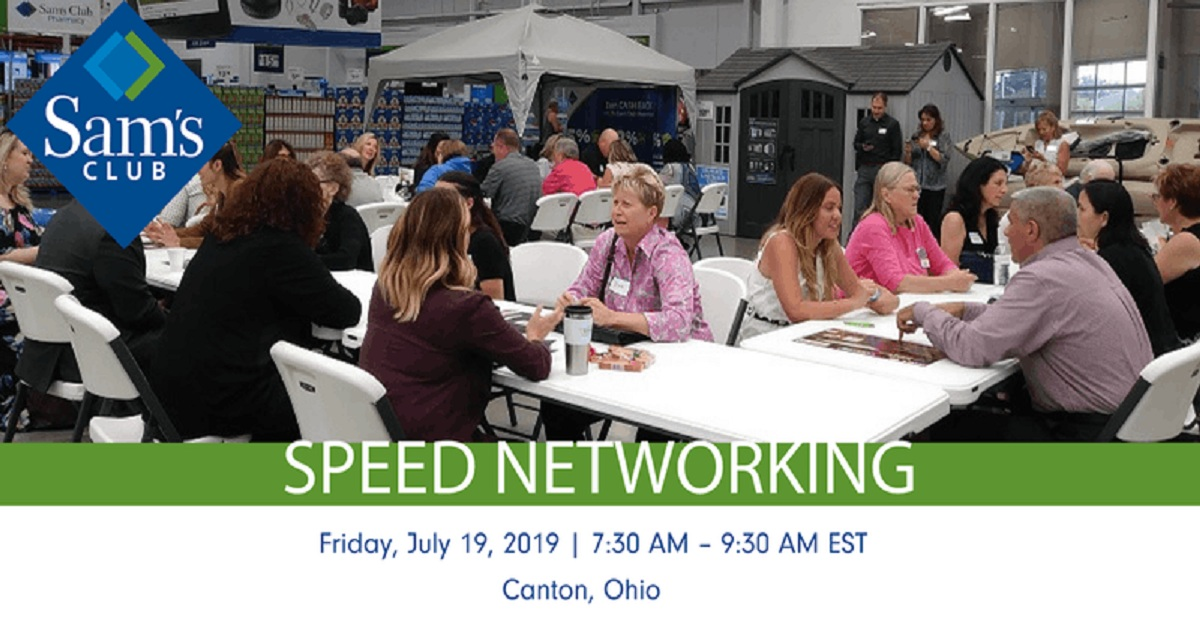 Speed Networking Business Professionals in Canton