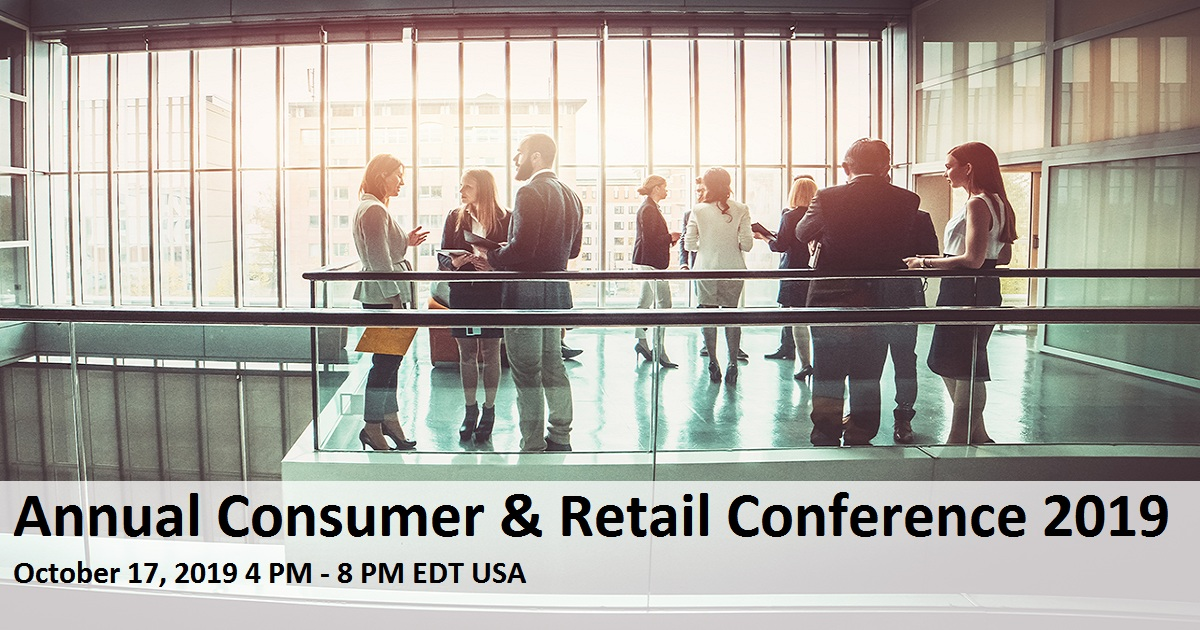 Annual Consumer & Retail Conference 2019