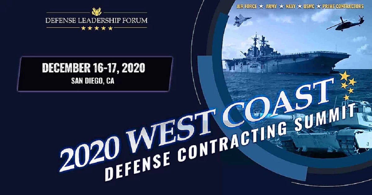 West Coast Small Business Defense Contracting Summit.