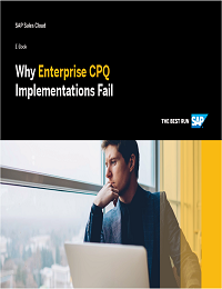 Why Enterprise CPQ Implementations Fail