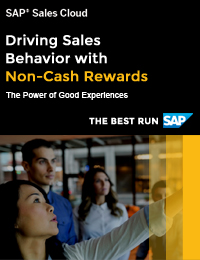 Driving Sales Behavior With Non-Cash Rewards