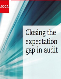 Closing the expectation gap in audit