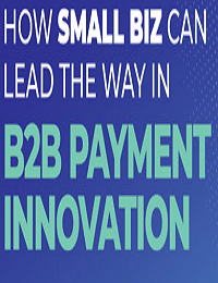 HOW SMALL BIZ CAN LEAD THE WAY IN B2B PAYMENT INNOVATION