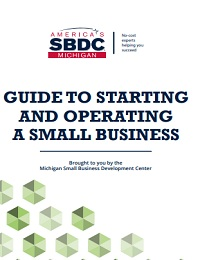 Guide to starting and operating a small business