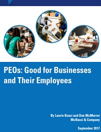 PEOs: Good for Businesses and Their Employees