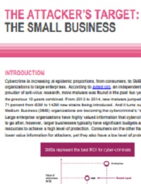 The attacker's target:the small business