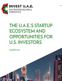 The u.a.e.'s startup ecosystem and opportunities for u.s. investors