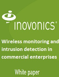 Wireless monitoring and intrusion detection in commercial enterprises