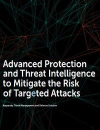 Advanced protection and threat intelligence to mitigate the risk of targeted attacks