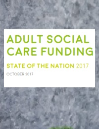 Adult social care funding state of the nation 2017