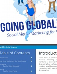 Going Global: Social Media Marketing for Small Businesses