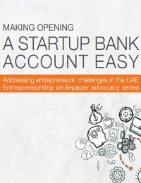 A startup bank account easy