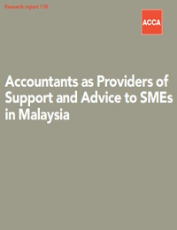 Accountants as Providers of Support and Advice to SMEs in Malaysia