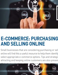E-Commerce: purchasing and selling online
