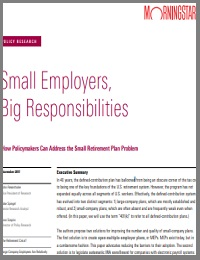 Small Employers, Big Responsibilities