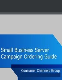 All-Star Employee Small Business Server Campaign Ordering Guide