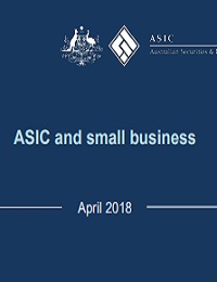 ASIC and small business