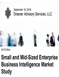 Small and Mid-Sized Enterprise Business Intelligence Market Study