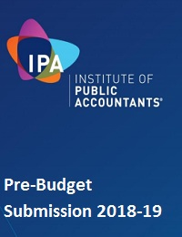 Pre-Budget Submission 2018-19