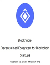 Blocknubie: Decentralized Ecosystem for Blockchain Startups