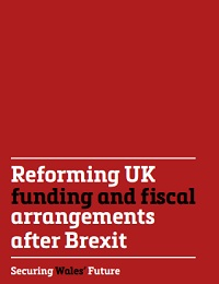 Reforming UK funding and fiscal arrangements after Brexit
