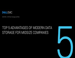 TOP 5 ADVANTAGES OF MODERN DATA STORAGE FOR MIDSIZE COMPANIES