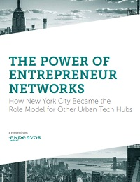 The power of entrepreneur networks