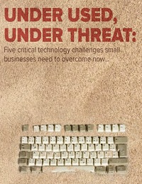 Under used, under threat: Five critical technology challenges small businesses need to overcome now