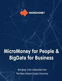 MicroMoney for People & BigData for Business