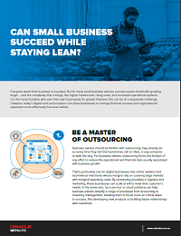 Can Small Business Succeed While Staying Lean