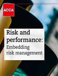 Risk and performance: Embedding risk management