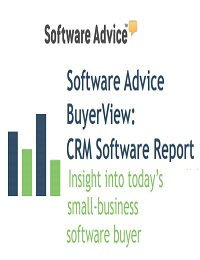 Small Businesses Need to Embrace CRM Software