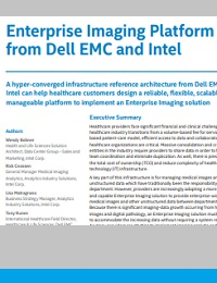 Enterprise imaging platform from Dell EMC and intel